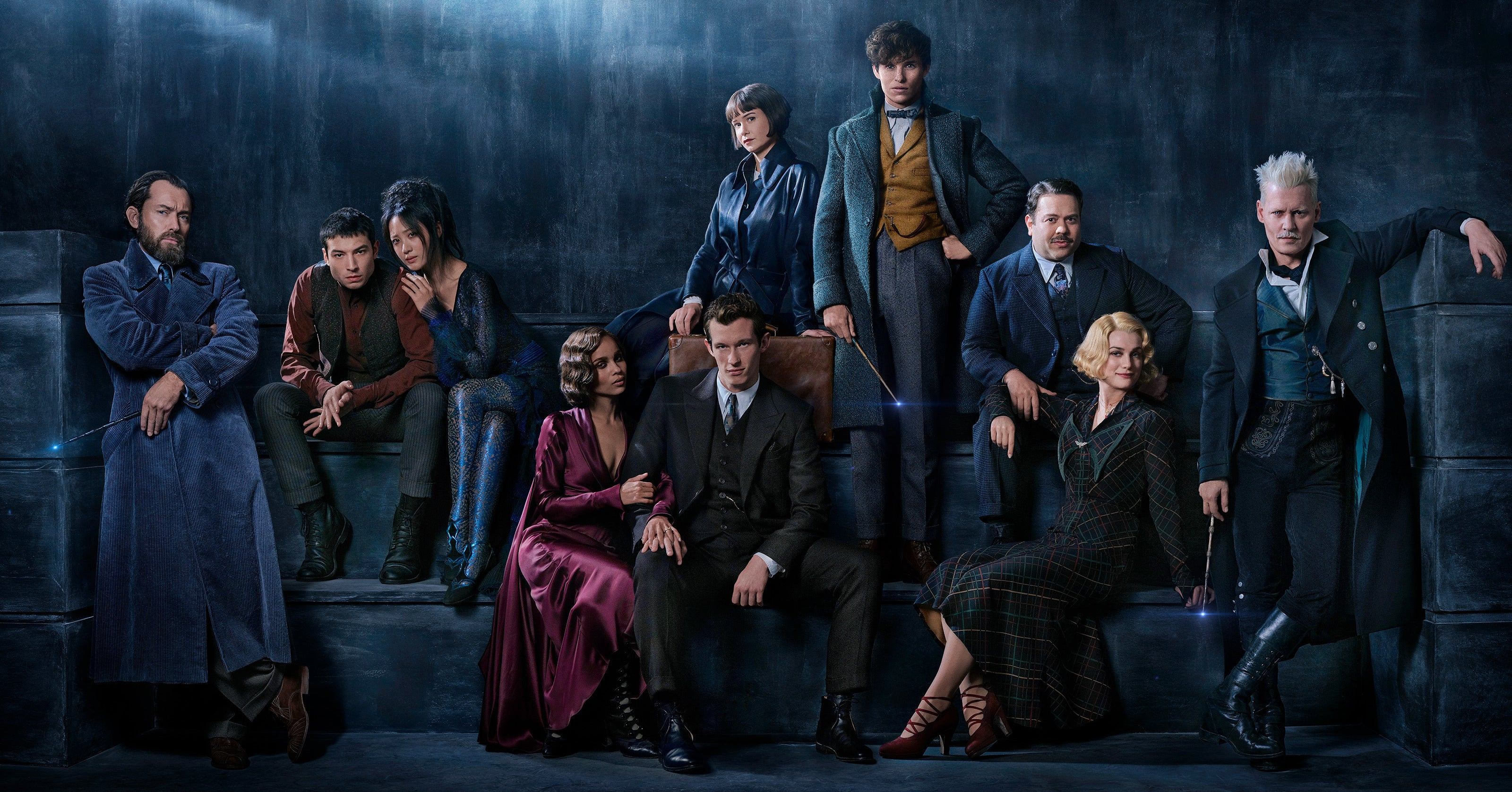Image result for fantastic beasts the crimes of grindelwald cast