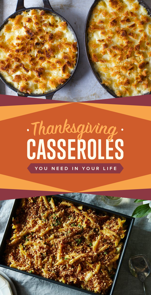 Casserole ideas to try this thanksgiving or year round