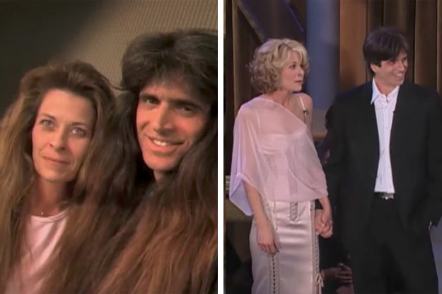 Before: Outdated heavy metal. After: Romcom cuteness.
