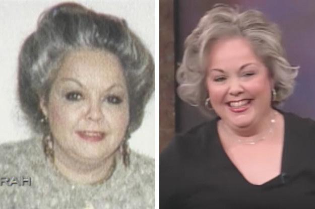 Before: Harsh hairspray. After: Healthy-looking hair.