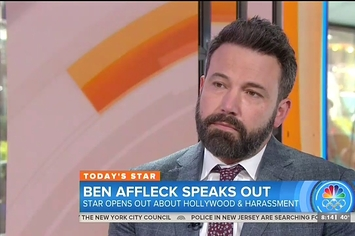 Ben Affleck Talked About Harvey Weinstein On The