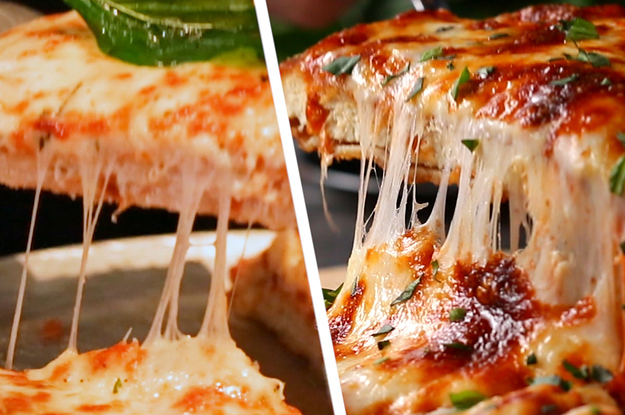 Restaurant Vs Homemade Chicken Parm Pizza