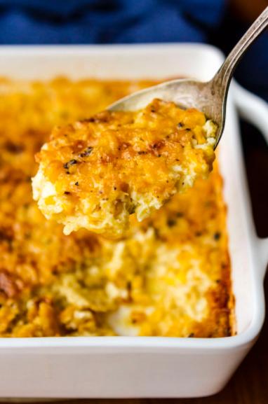 Grandma's Old-Fashioned Corn Casserole Recipe