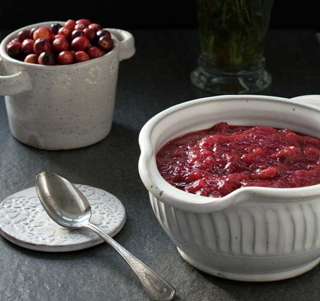 Instant Pot Cranberry Sauce With a Touch of Apple Brandy