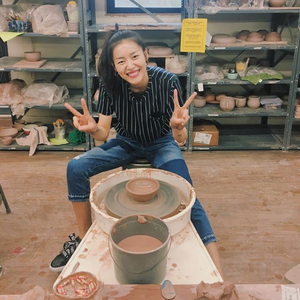 Liu Wen making pottery is the goal-self we know we'll never become.