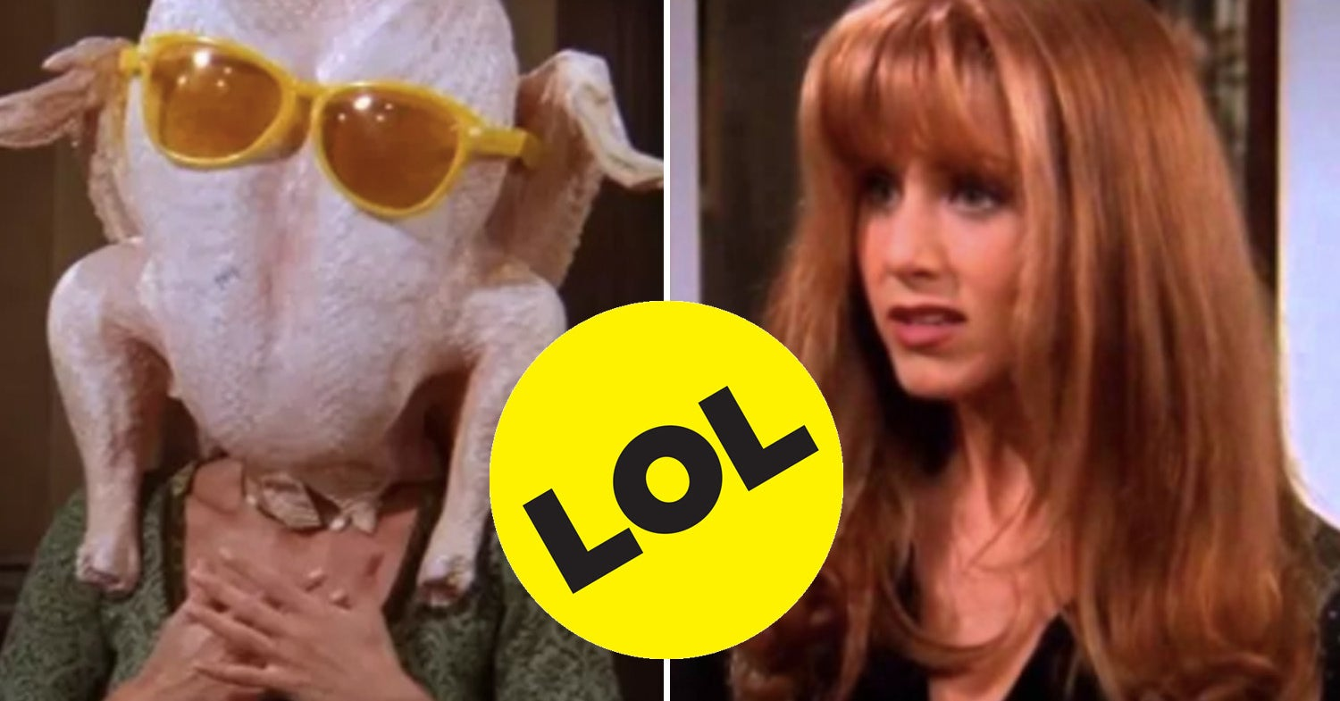 """The 27 Funniest Moments From """"Friends"""" Thanksgivings"""