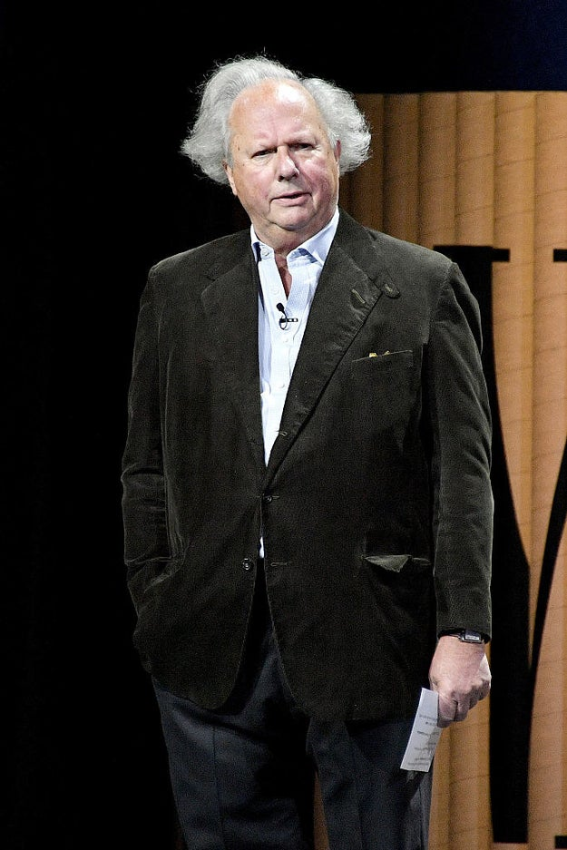 We never heard a Condé Nast fashion editor say anything like this about Graydon Carter and his style, did we?
