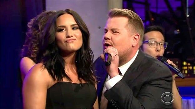 When he challenged Demi Lovato and they went head-to-head in a diva riff-off for the ages: