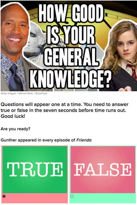 17 Trivia Quizzes Your Entire Family Will Love