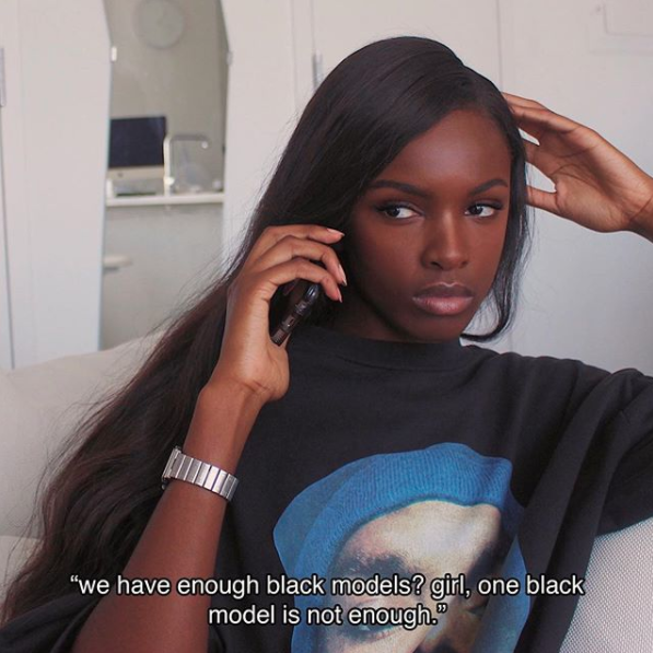 We make the same face as Leomie Anderson when we have to educate people on shit they should know.
