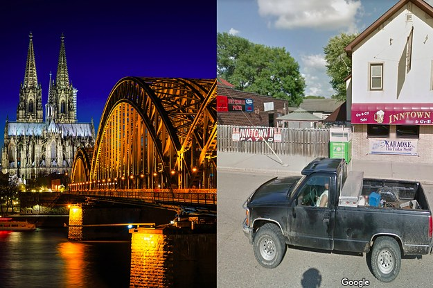 12 German Cities Vs. Their American Counterparts