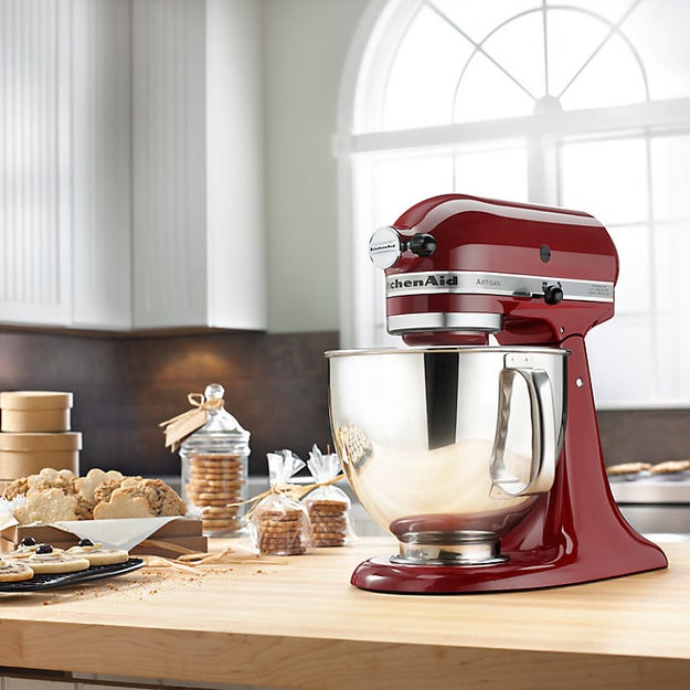Every baker wants one of these stunning Kitchen Aid mixers.