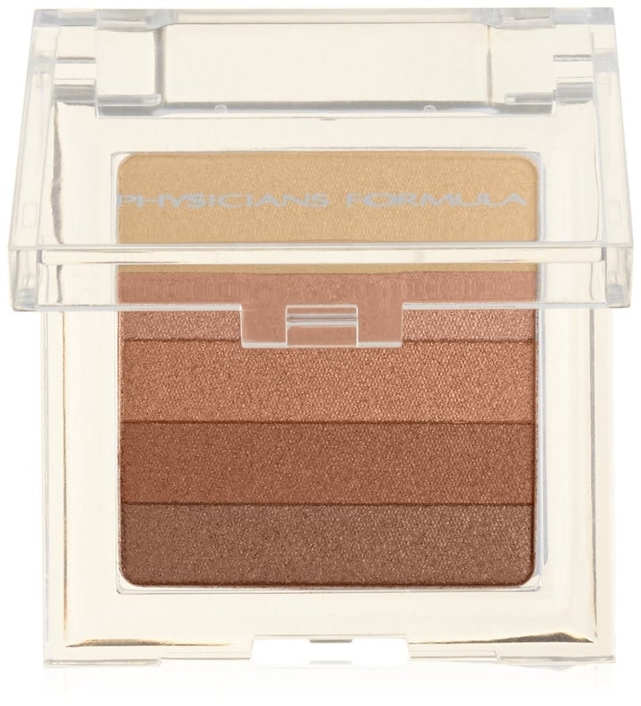 """You can use this as a bronzer, eye shadow, or highlighter. Promising review: """"This is the best drugstore highlighter EVER. I've tried so many high-end ones, and they don't even come close to this highlighter!"""" —Kassandra BarrazaGet it from Amazon for $9.47 or Jet for $9.97."""