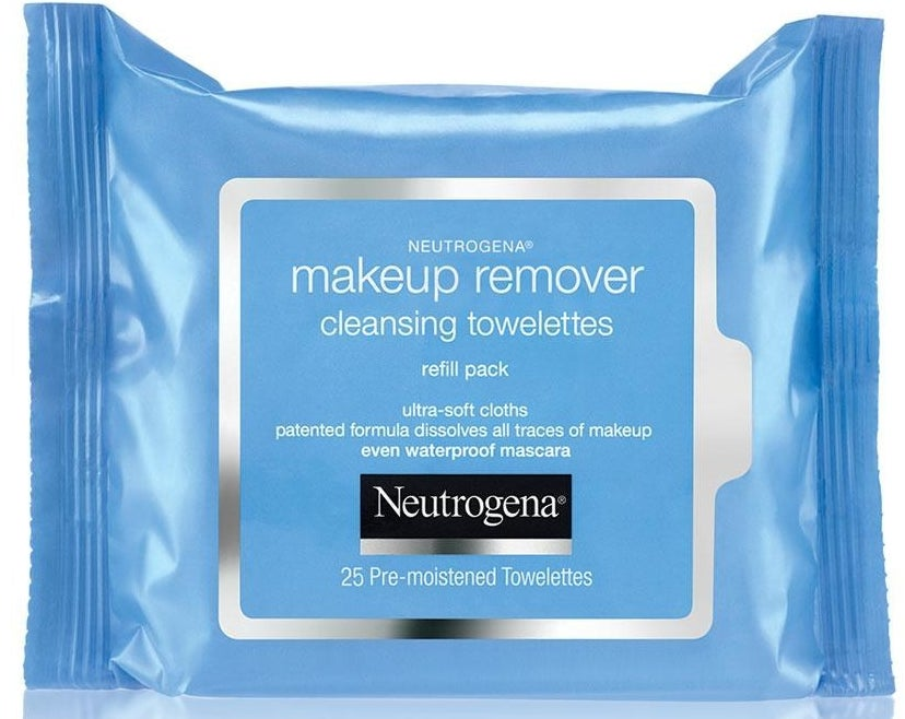 """These bad boys dissolve makeup, dirt, and oil with just a couple of swipes. Promising review: """"My face gets irritated from almost every other makeup removing wipe out there, but not with these. I've even tried organic ones that made my face sting and get red. I haven't had any issues with these and I've been using them for months."""" —Aleksandra KosikGet a pack of 25 from Amazon for $5.31 or Jet for $7.19."""