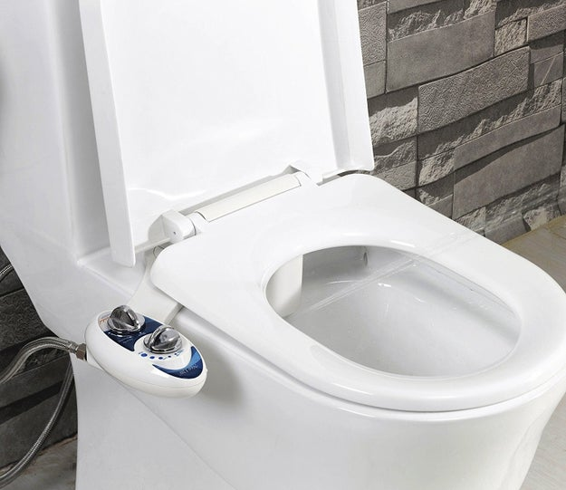 And while we're on the topic of butt stuff, a bidet isn't a bad idea.