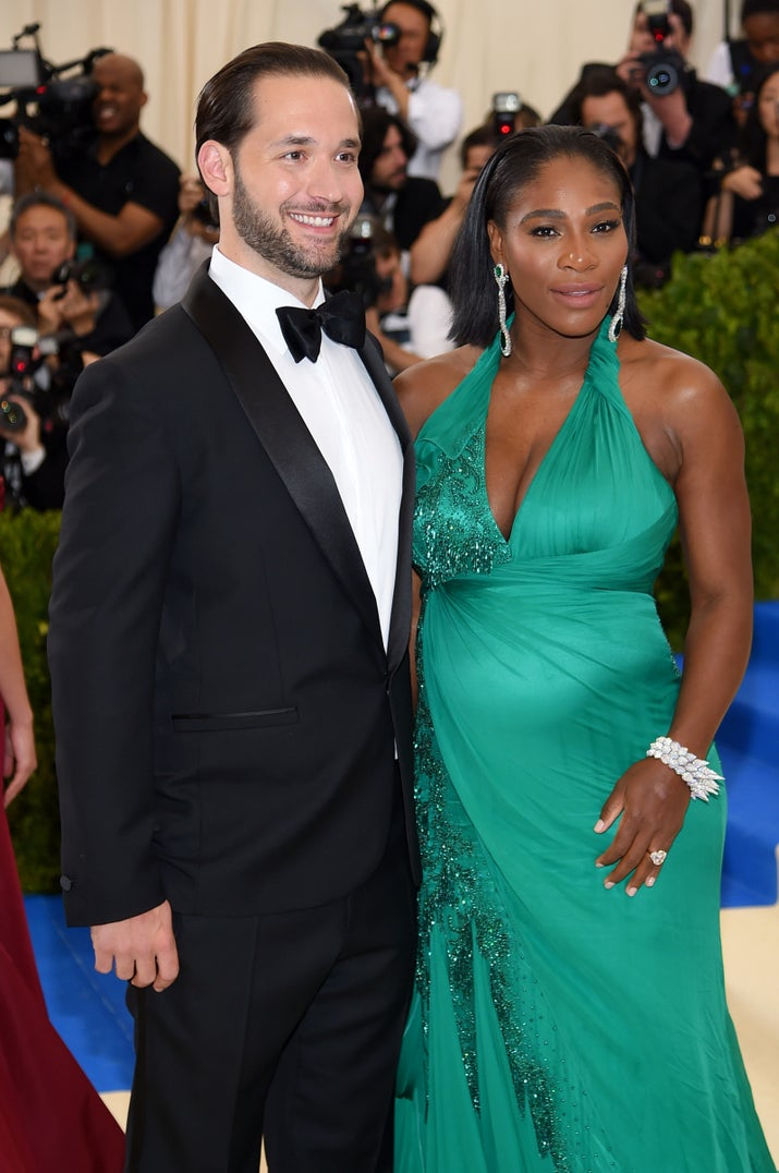 Serena gave birth to the couple's daughter, Alexis Olympia Ohanian, Jr., two months ago, after accidentally announcing her pregnancy in April. (She is VERY cute, btw.)