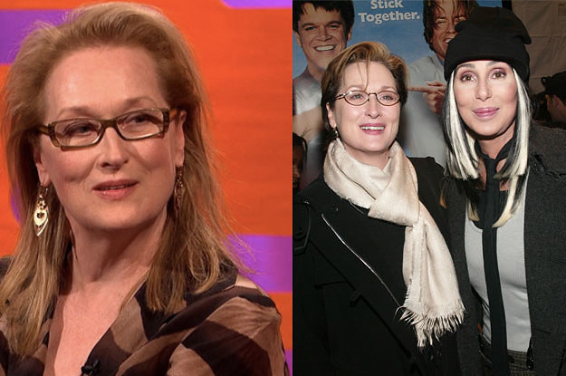 Meryl Streep Opened Up About The Time She And Cher Physically Fought Off An Attacker Together