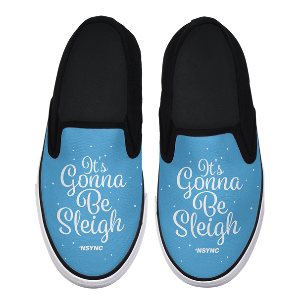 The items — which include slippers, stockings, and more — are available on NSYNC's website, though currently they're pretty much all sold out.