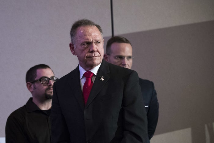 Roy Moore at a news conference on Nov. 16, in Birmingham, Alabama.