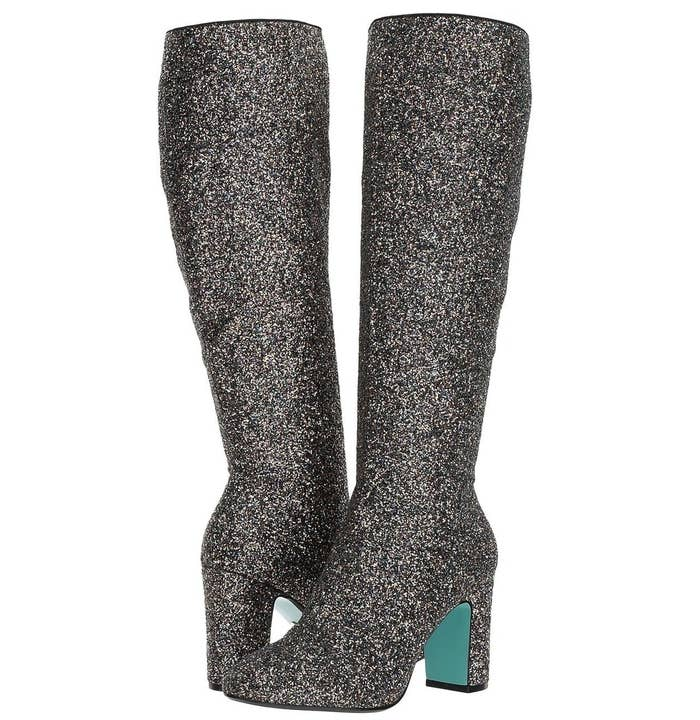 c8838c0d87766 Glitter boots that are *not* too extra, no matter what anyone says.