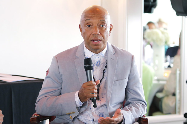 Russell Simmons Accused Of Sexually Assaulting A 17-Year-Old Model In 1991