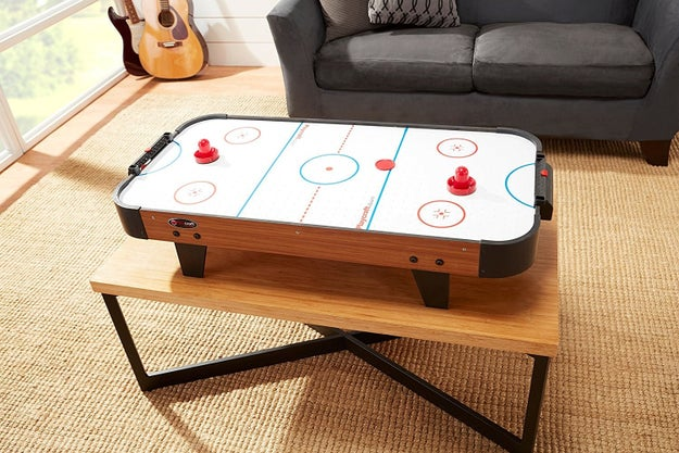 What about a game table (like this under-$60 air hockey one) your whole family enjoyed?
