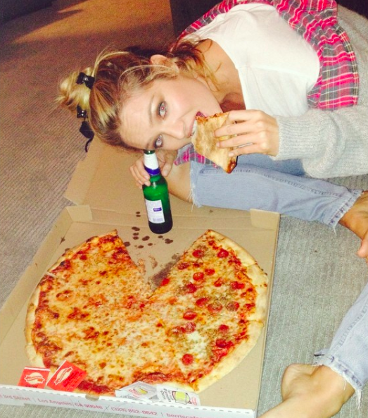 Honestly tho, we're just glad Candice Swanepoel values protein and hydration as much as we do.