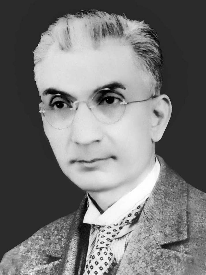 This is Imdad Ali Kazi, who chaired the Jamiat ul Muslimin, a society that promoted Islam, and was founding father of the University of Sindh. The Jamiat grew as an organisation and established numerous Islamic centres around the UK. As more and more Muslim sailors settled in east London, Friday and Eid Prayers moved to the larger venue of Kings Hall on Commercial Road.
