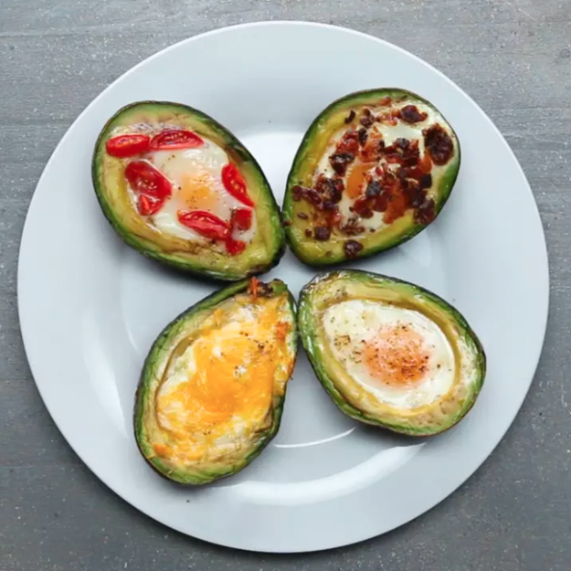 Bake eggs directly in avocados for a perfect breakfast.