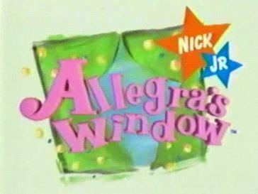 Network: NickelodeonOriginal run: 1994–1996Forgotten synopsis: Allegra's Window focused on youngster Allegra while she faced the struggles of being a little girl. It's a tough life!