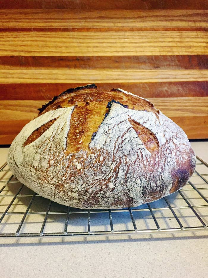 Here's How To Make The Perfect Sourdough Loaf At Home