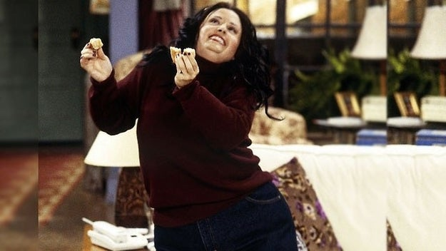 All of the fat jokes about Monica