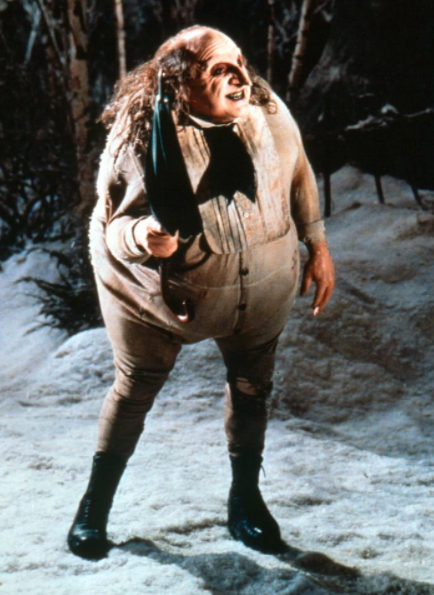 You after yoga: Literally twinning with the penguin from Batman Returns.