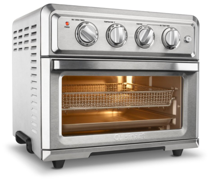 use it to toast bread and bagels bake broil and keep food warm