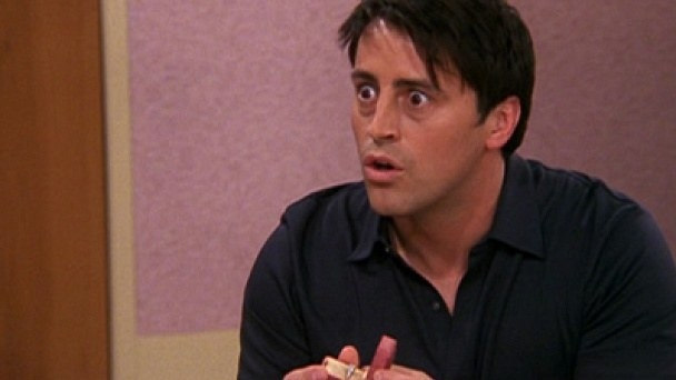 All of the confusion when Rachel thought Joey proposed to her