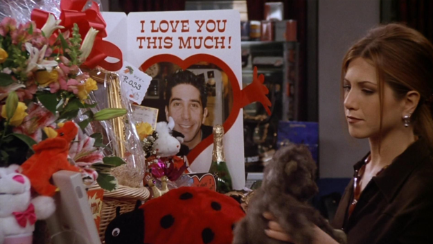 Ross' jealousy over Rachel's friendship with Mark