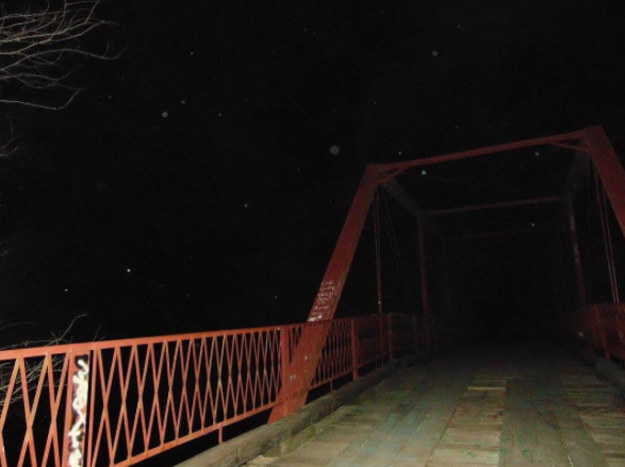 It's often referred to as The Goatman's Bridge and there are many legends surrounding it.