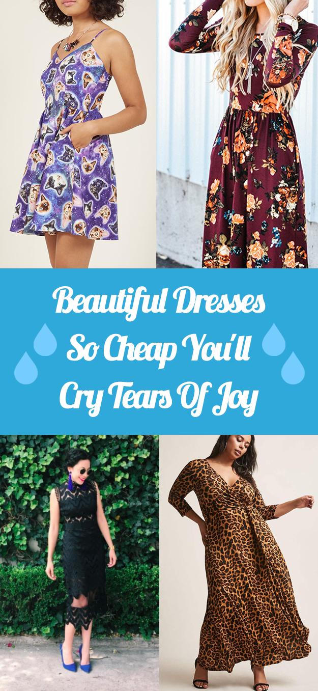 2019 year style- Cheap beautiful dresses