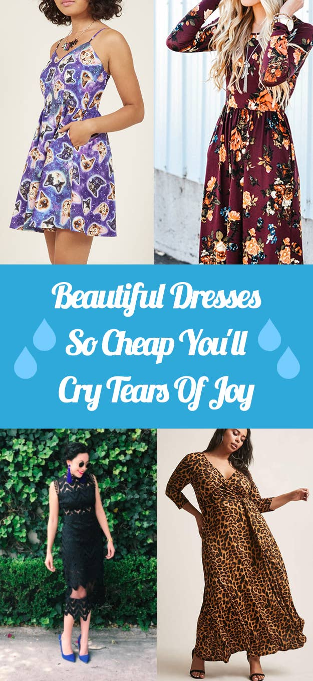 35 Beautiful Dresses So Cheap You ll Cry Tears Of Joy 2bf8d1f53