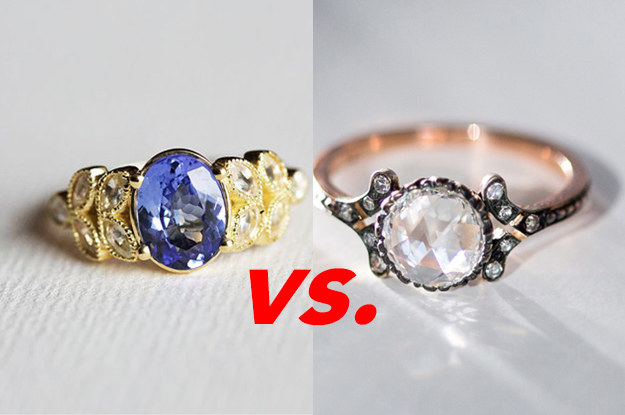 Your Ratings For These Engagement Rings Will Determine Where Youu0027ll Get  Married