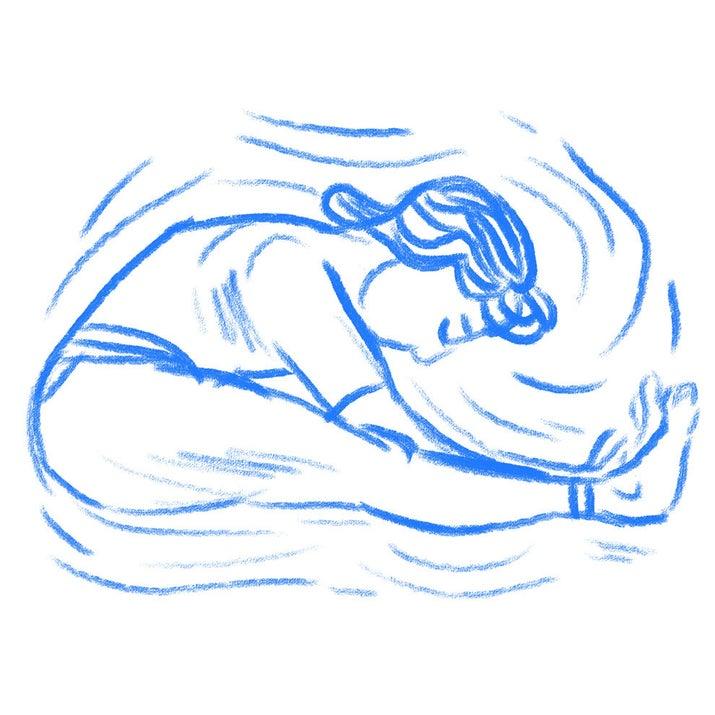 Se você estiver estressado, seu corpo pode estar mais tenso do que você percebe. Tirar um minuto para se alongar, ou mesmo colocar um pouco de alongamento em sua rotina noturna, pode dar uma sensação muito boa!