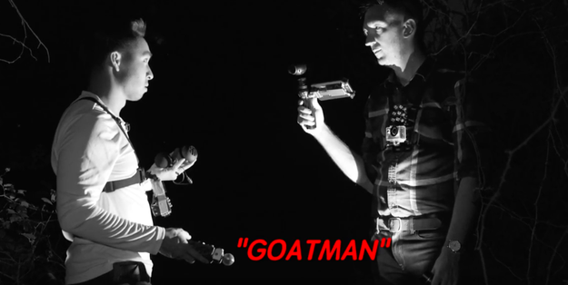 Ryan and Shane attempted to communicate with the area's entities using a spirit box.