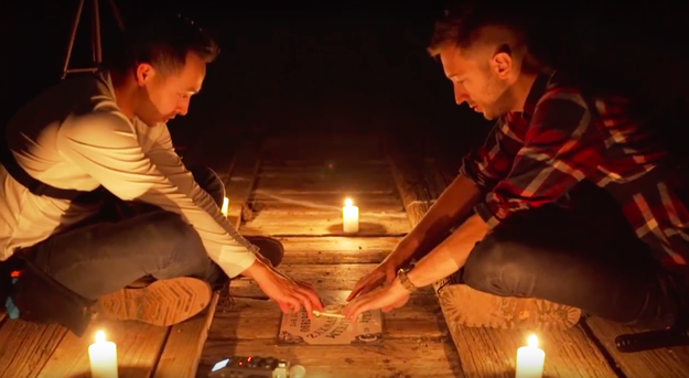 Additionally, they performed a ritual on the bridge involving a Ouija board.