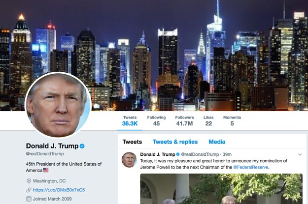 Image result for President Trump's Twitter Account Deleted By Rogue Employee, Gets Restored