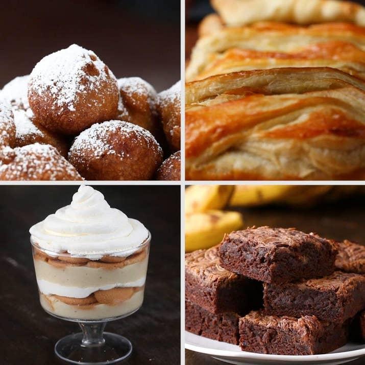 Quatre desserts à confectionner avec des bananes mûres