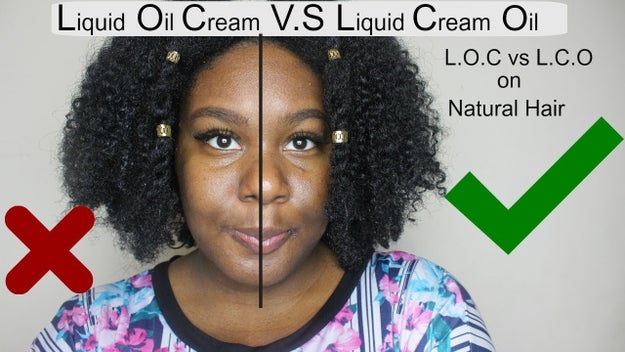 My moisturizing regimen is actually the LOC method. That's cool, right?