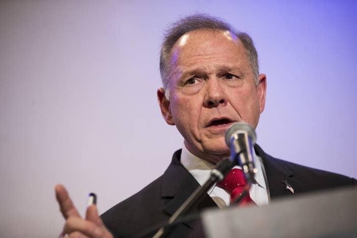 Republican candidate for U.S. Senate Judge Roy Moore