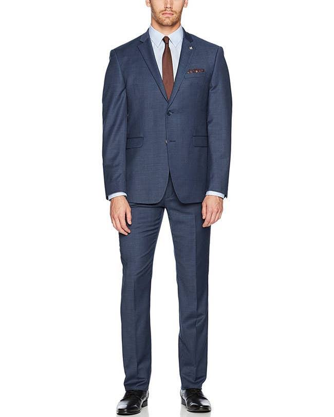 73dd6cf8171e35 Amazon overloads on suit options, providing both classic and modern styles  in a range of price points from lines like Tommy Hilfiger, Kenneth Cole New  York, ...