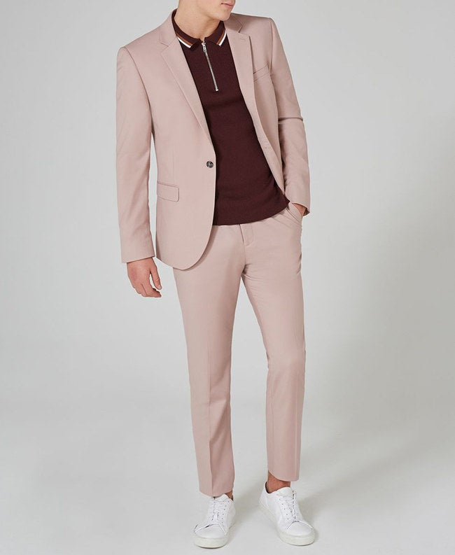 Available fits: muscle, relaxed, skinny, slim, spray on, and ultra skinny Prices: $70+Get this skinny fit suit for $210.