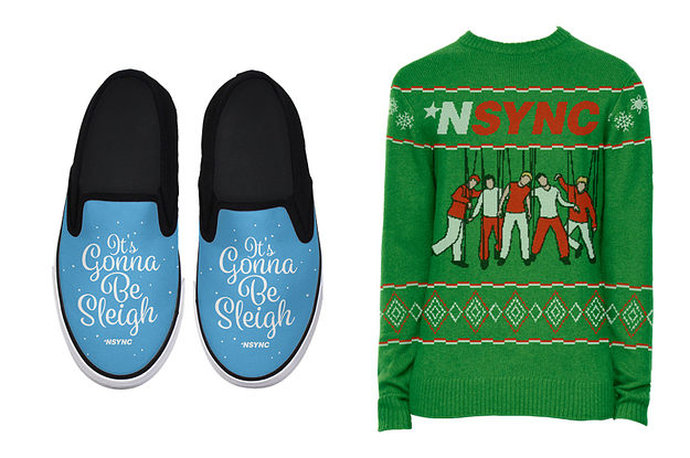 90s Christmas Sweaters.Nsync Have A Line Of Holiday Swag Now 90s Kids
